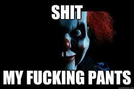 scary ass clown memes | quickmeme via Relatably.com