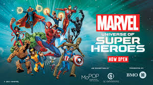 Marvel: Universe of <b>Super Heroes</b> - Museum of Science and Industry