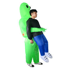 <b>Alien Inflatables Halloween Bar</b> Atmosphere Stage Clothes for Adult ...