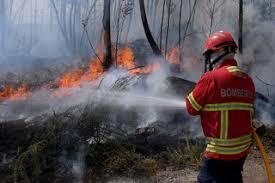 Incêndio em Ourém está próximo de casas