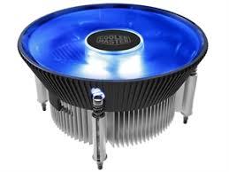 <b>Cooler Master I70C</b> 120mm Aluminum LGA115X <b>CPU</b> Cooler - Blue ...