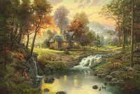 Wholesale <b>Oil Painting Mountains</b> Landscape - Buy Cheap Oil ...