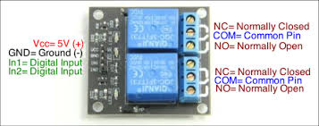 2-<b>Channel Relay Module</b> - Summerfuel Robotics
