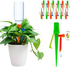 <b>Plant Waterer</b> 12PCS <b>Adjustable</b> Self <b>Watering</b> Spikes <b>Automatic</b> ...