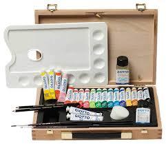 Купить набор для <b>рисования Giotto</b> Wooden Case Professional ...