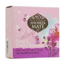 <b>Мыло косметическое</b> Kerasys <b>Shower Mate</b> Роза и Вишневый ...