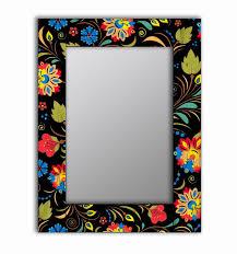<b>Настенное Зеркало</b> Цветочный Фейерверк 04-0091-75Х110 <b>Дом</b> ...