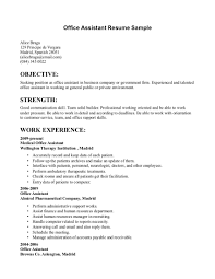 examples of resumes resume example server objective good for 89 fascinating simple resume example examples of resumes
