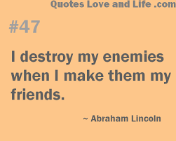 Enemy Quotes And Sayings. QuotesGram via Relatably.com