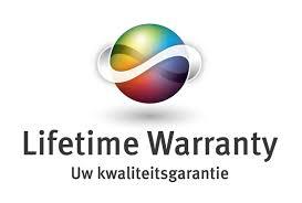 Afbeeldingsresultaat voor lifetime garantie