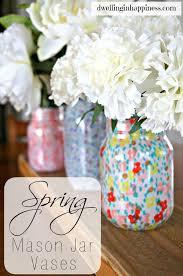 jar crafts home easy diy: cute diy mason jar ideas spring mason jar vases fun crafts creative room