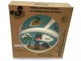 Купить <b>Набор посуды Eco Baby</b> Пираты Light Blue 500134 по ...
