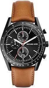 Original Michael Kors Accelerator Chronograph Black ... - Amazon.com