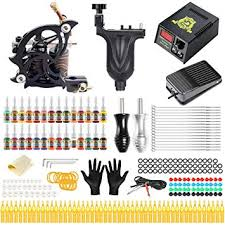 Solong Tattoo Kit Complete Rotary Coil Machine ... - Amazon.com