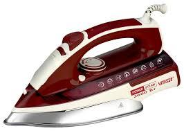 <b>Утюг Vitesse VS-686</b> White/Red, купить в Москве, цены в интернет ...