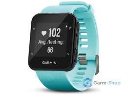 Умные <b>часы</b> голубые <b>Garmin Forerunner 35</b> 010-01689-12 - в ...