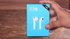 Air Pods i11 <b>TWS</b> True <b>Wireless Earbuds</b> 5.0 <b>Bluetooth</b> Earphone ...