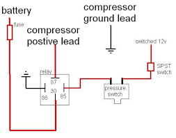 how to install a kleinn onboard air system and train horn the here is a wiring diagram for the compressor onboard air part of the system