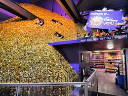 this theme park is a real life willy wonka chocolate factory throughout cadbury world there are rides demonstrations exhibits