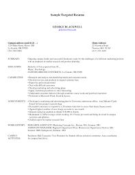 targeted resume jpg sample targeted resume template resume badak
