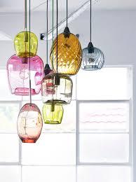 view in gallery handblown glass pendant lights by mark douglass blown glass pendant lighting