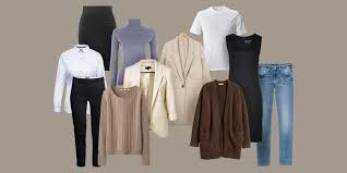 Как собрать базовый <b>гардероб</b>: подробный чек-лист для женщин ...