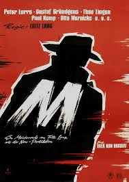"Image result for images from fritz lang's film ""M"""