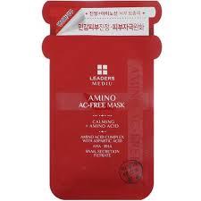 Leaders, <b>Mediu</b>, <b>Amino AC-Free</b> Mask, 1 Mask, 25 ml