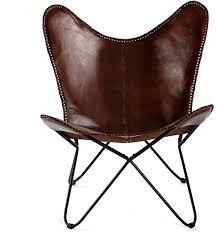 MH London Butterfly Chair - Genuine Leather ... - Amazon.com