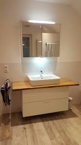 appealing ikea varde: unser neues bad dyi burgbad spiegelschrank keramag aufsatzwaschbecken  x  x