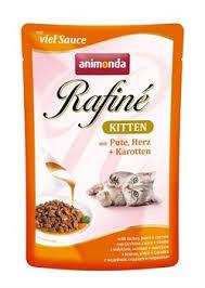 <b>Пауч ANIMONDA</b> Rafin Soup <b>Kitten</b> для котят с индейкой сердцем ...