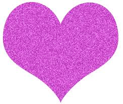 Image result for glitter heart clip art