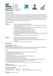 logistics resume samples    sample resumeslogistics resume samples