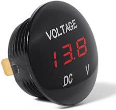 Waterproof Voltmeter, <b>Mini</b> Digital Display Voltage Meter DC <b>12V</b> ...