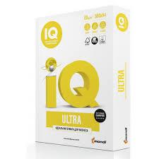 <b>Бумага IQ</b> Ultra класс А+, А4, 80 г/м2, 500 л, купить, заказать в ...