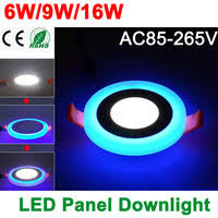 <b>LED</b> double color panel <b>light</b>