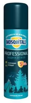 <b>Аэрозоль Mosquitall Профессиональная защита</b> от всех ...