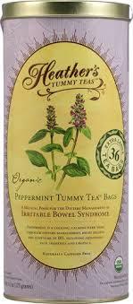 Heather's <b>Tummy</b> Care <b>Organic Peppermint Tummy Tea</b> Bags -- 36 ...