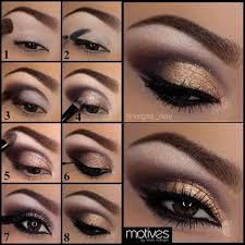 simple eye makeup tutorial for brown eyes pin it applying