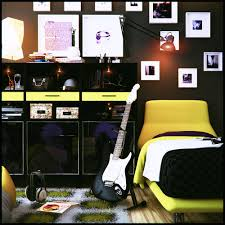 themed kids room designs cool yellow:  teen room design