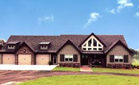 Mountain House Plans by Max Fulbright Designsone storey craftsman house plan alpine lodge