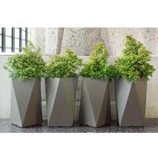 arrow container  angled planter makes a statement