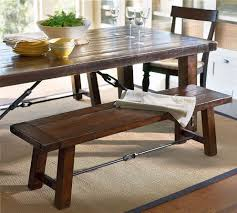 Dining Room Tables With Bench Picking The Perfect Kind Of Dining Room Table With Bench