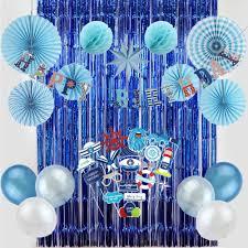 <b>Nautical</b> Themed Birthday Party Decorations Oceanic <b>Photo</b> Props ...