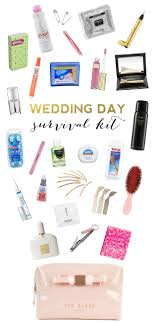 flowers wedding decor bridal musings blog: wedding day survival kit procucts and essentials every bride should have on her wedding day