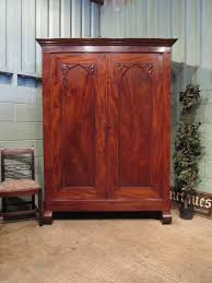 antique 19th cent french mahogany armoire wardrobe antique armoires antique mahogany armoire