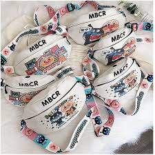 Mumu Large Size <b>Cute Cartoon Korean</b> Tiktok Ins Belt Chest Bag ...