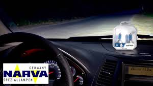 Сравнительный тест автомобильных галогенных <b>ламп NARVA</b> ...