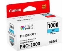 <b>Canon</b> imagePROGRAF PRO-1000 <b>PFI</b>-<b>1000PC Photo Cyan</b> ink ...