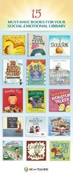 best ideas about preschool social skills social 15 books that teach social emotional skills repinned by sos inc resources